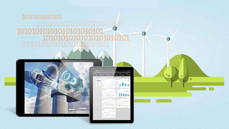 GE Step Ahead : The dawn of the Digital Wind Farm