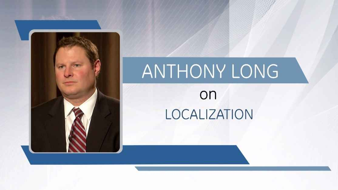 GE Step Ahead : Anthony Long on Localization