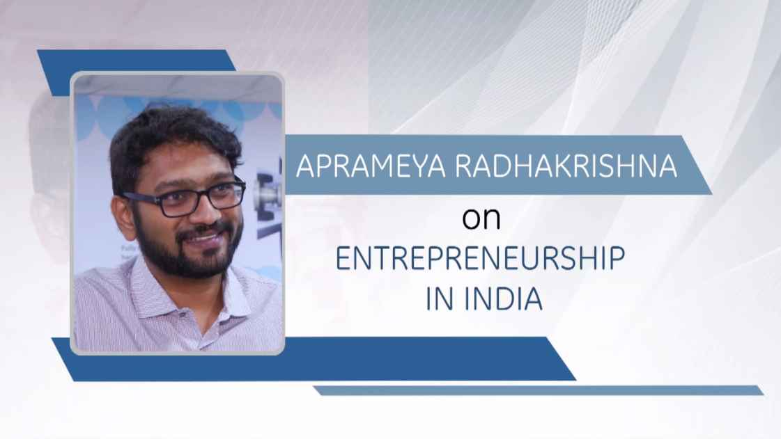 GE Step Ahead : Aprameya Radhakrishna on Entrepreneurship in India
