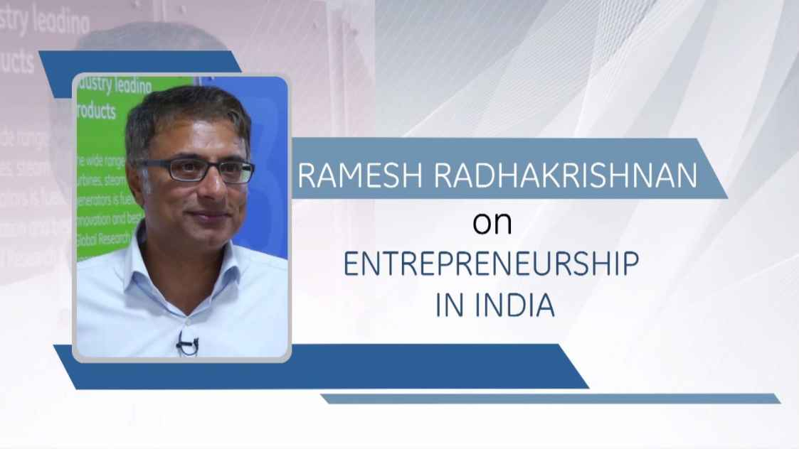GE Step Ahead : Ramesh Radhakrishnan on Entrepreneurship in India