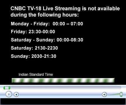 My TV : Watch CNBC-TV18 programming LIVE.
